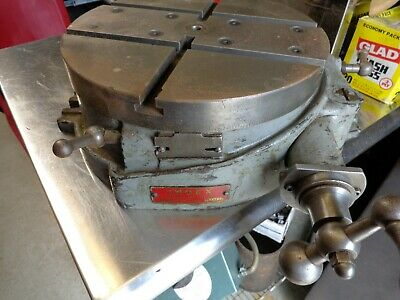 12 Index Rotary Table