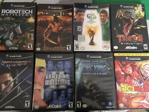 Assorted GameCube Games $5 each