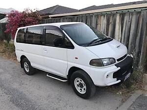 Mitsubishi Delicia 4x4 Doubleview Stirling Area Preview