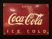 Vintage Coke Advertising Sign