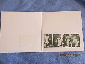 RECORDS FOR SALE: BEATLES   WHITE ALBUM Joondalup Joondalup Area Preview