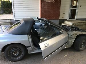 1988 mazda rx7 gxl vert part out