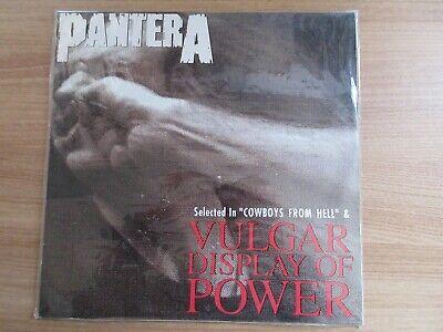 Pantera - Vulgar Display Of Power 1993 Rare Edit Korea Orig LP SEALED NEW