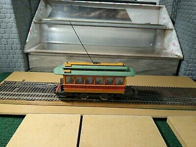 DEPARTMENT 56 STREET CAR TROLLEY TESTED PRE OWENED