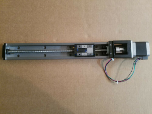 THK SKR26 LM Linear Guide Actuator, 300 mm stroke, with motor