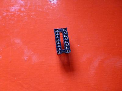 16 Pins Ic Socket  Solder Type Pc Mount 4 Pcs Lot