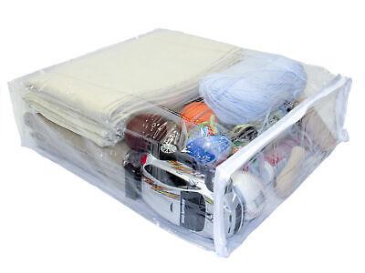 Clear Vinyl Plastic Zippered Blanket Storage Bags 15