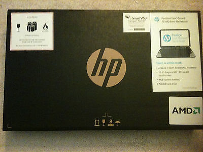 HP Pavilion TouchSmart 15-b129wm New IN Box (AMD A-Series 4 GB 500 GB -