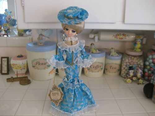 Beautiful Vintage Treasure Doll By Kelvin Revolving Musical Gay 90