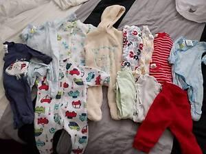 Newborn 0000 Baby Boy clothes Fletcher Newcastle Area Preview