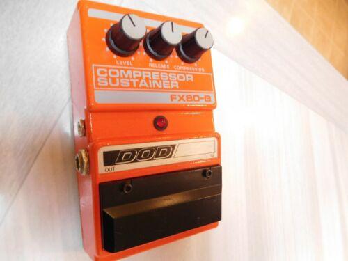 DOD FX80B Compressor Vintage Guitar Effect Pedal USA w/CA3080 chip