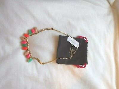 Kate Spade Fashion Necklace multi-coloured, New. Birthday Gift