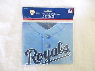 MLB Kansas City Royals Major League Baseball Sports Party Favor Treat Loot Bags - Party City League City