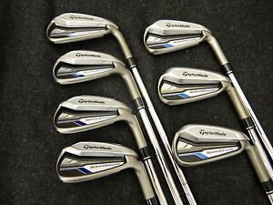 New Taylormade Speed Blade Irons 4-PW Speedblade Iron set Stiff Flex Steel