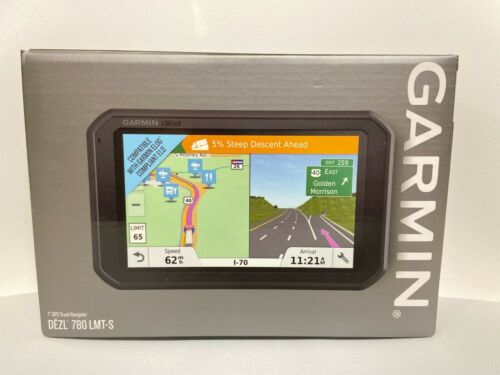 "Garmin DEZL 780 LMT-S 7"" GPS Trucking Navigator Built-In WiFi 010-01855-00 NEW"