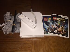 Nintendo Wii with Lego Games