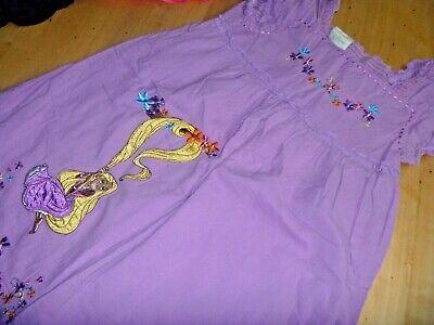 Disney Kleid Tunika Mädchen lila Rapunzel neu verföhnt - Disney Rapunzel Kleid