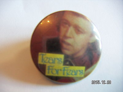 TEARS FOR FEARS POP MUSIC PICTURE BADGE 2