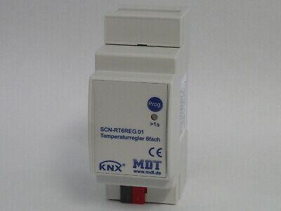 MDT EIB KNX Temperaturregler 6fach REG 2TE SCN-RT6REG.01 neu OVP