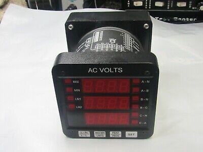 SF232DB2 USED ELECTRO INDUSTRIES DMMS300-H POWER METER W// DSP3