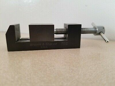 Brown Sharpe Precision 752 Tool Maker Vise
