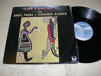 ANGEL PARRA Y FERNANDO ALEGRIA Las Cuecas *BRASIL LP 1967 COPACABANA LABEL*NM