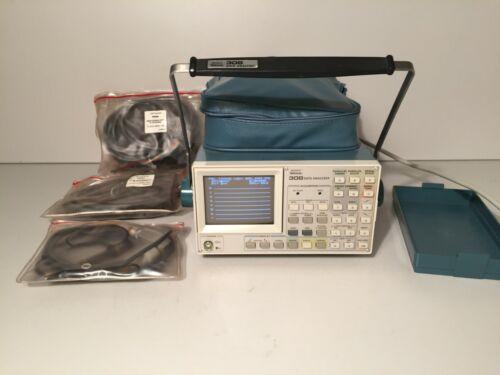 SONY TEKTRONIX 308 Data Analyzer with Probes Accessories