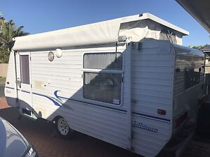 2002 caravan with bunks Clontarf Redcliffe Area Preview