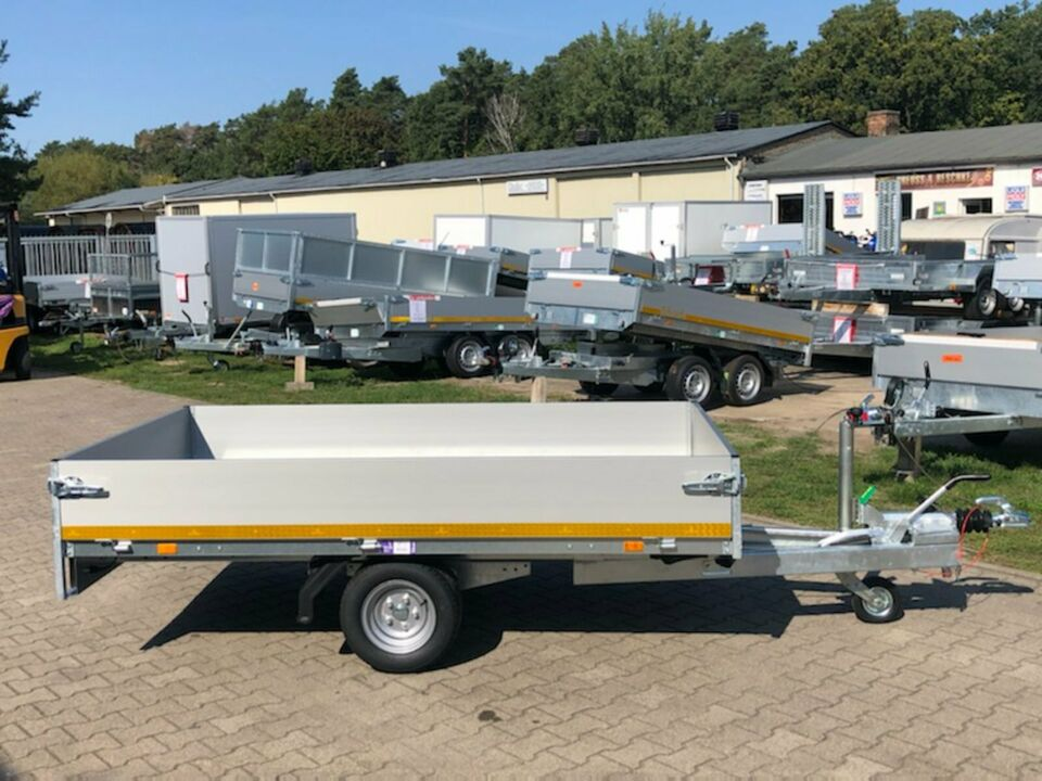 ⭐ Eduard Anhänger Pritsche 1500 kg 250x145x30 cm Alu NEU 63 in Schöneiche bei Berlin