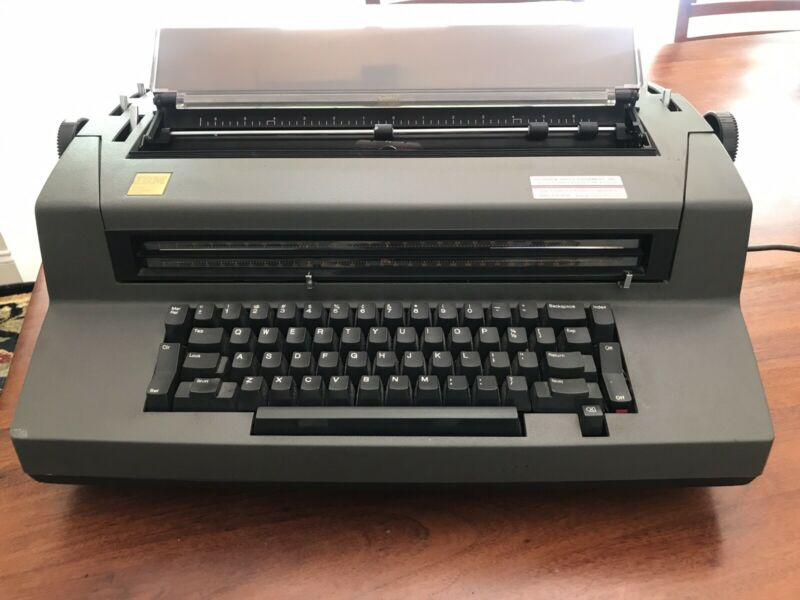 IBM Correcting Selectric III Electric Typewriter - 50th Anniversary Edition
