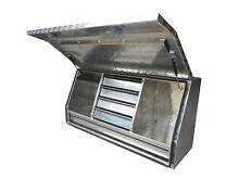 LARGE GULLWING 2MM CHECKER PLATE TOOLBOX WITH DRAWERS Willow Vale Gold Coast North Preview