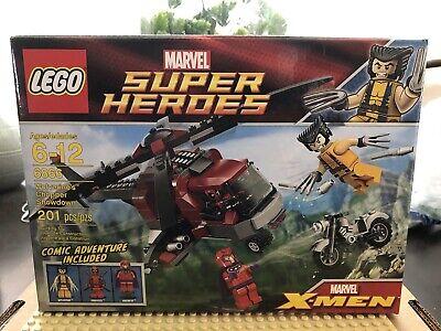NEW IN BOX - Lego Marvel -Wolverine's Chopper Showdown (6866) - RETIRED HTF!
