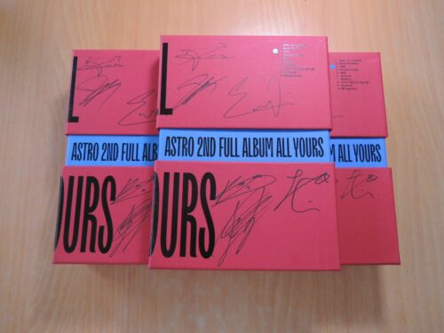 ASTRO - All Yours (2nd Promo) with Autographed (Signed)