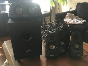 Logitech Z506surround sound speakers