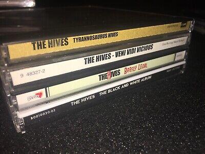 THE HIVES • Black And White Album Barely Legal Veni Vidi Vicious Tyrannosaurus Black And White Album