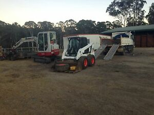 Excavator/Bobcat/Tipper for Hire Sydney RES Contracting & Excavation Freemans Reach Hawkesbury Area Preview