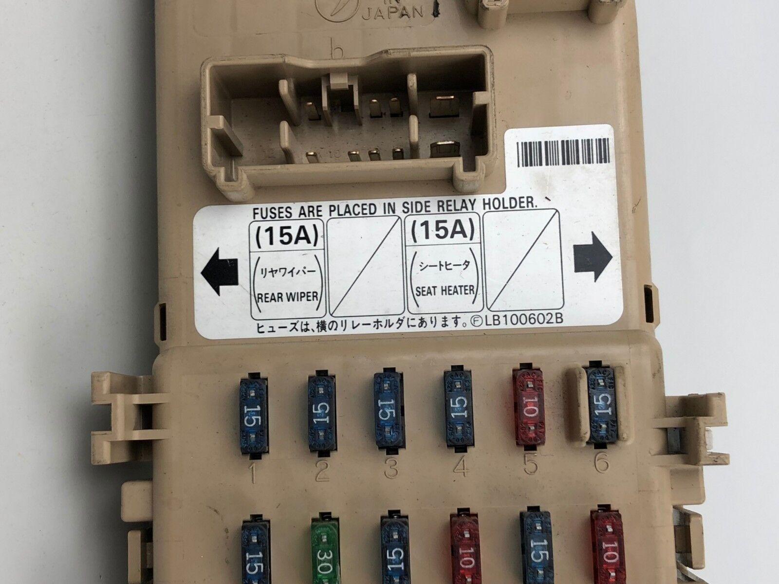used 1998-2001 subaru impreza 2 0 turbo interior fuse box control unit for  sale | part # 209221 , ha23706547
