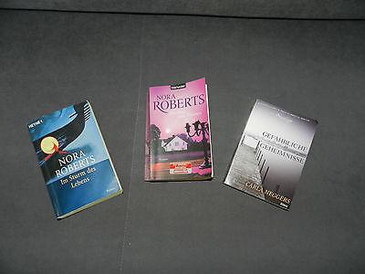 Roman Paket, 3 Bücher, u.a. von Nora Roberts