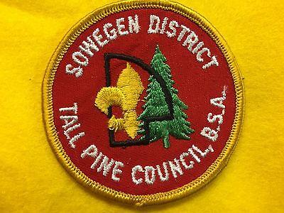 Boy Scouts - Sowegen District - Tall Pine Council, BSA patch