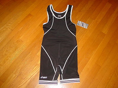 Asics    Snap Down Wrestling Singlet   Rowing Track  New Tag    Sz   Small