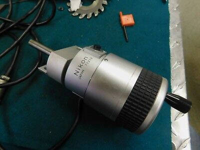 Nikon Photoelectric Micrometer Head For Profile Projector