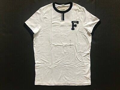 NWT Abercrombie & Fitch Men's T-Shirts Muscle Fit Vintage Beige Size XXL