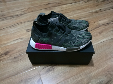 Adidas NMD R1 PK Camo Glitch Green UK10 US10.5