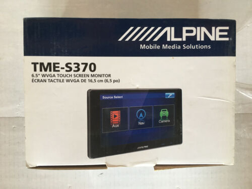 "Alpine TME-S370 6.5"" Touch Screen Monitor (New)"