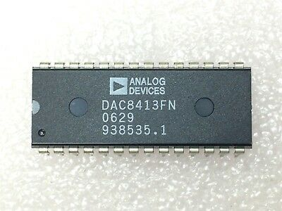 Dac8413ep Analog Devices Ic Dac 12bit Quad V-out 28-dip 1 Unit