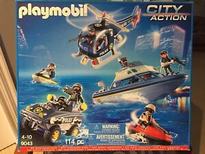 Playmobil City Action - Police Tactical Unit #9043