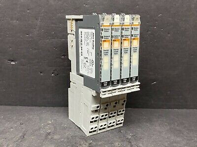Allen Bradley 1734-it2i 1t21c 1734-rtbcjc 1734-mb Thermocouple Module 2 Pt Base