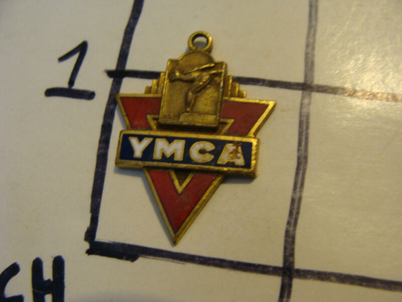 Vintage medal/coin: YMCA 1940 1ST PLACE BACK STROKE marked but i cant read