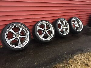 235/35R19 Work Wheels and Tires