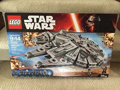 LEGO Star Wars Millennium Falcon Retired Set 75105 New Factory Sealed